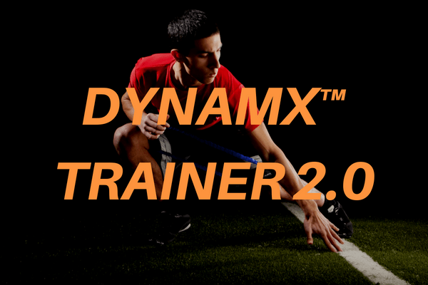 DYNAMX TRAINER Speed and Agility Training Resistance Bands for Legs