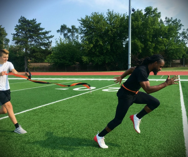 X-Plosive Speed Trainer Athletic Training Sprinter